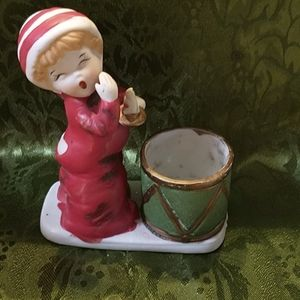 Vintage Christmas tea light Holder